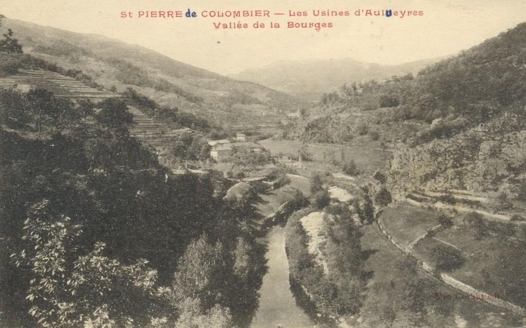 Photographie ancienne : la vallée de la Bourges
