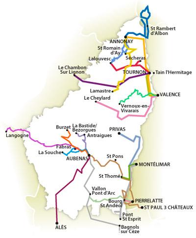 Transports Ardèche