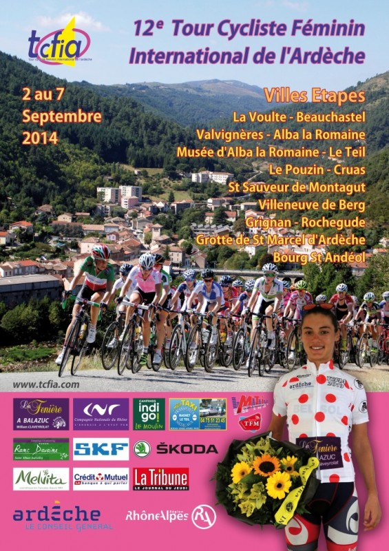 Tour Cycliste Féminin International de l'Ardèche