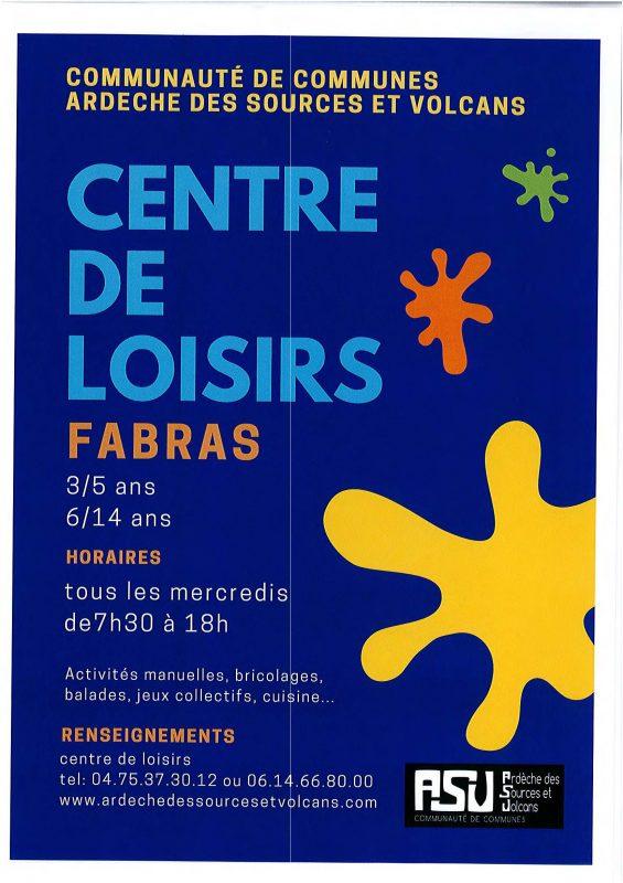 Centre de Loisirs de Fabras
